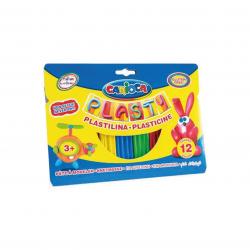 Plasticina Carioca 12 cores