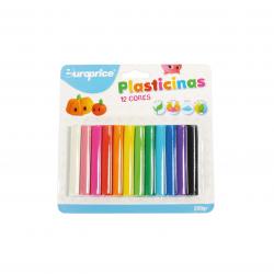 Plasticina Europrice 12 cores
