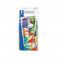 Aquarela em tubo 12 cores
