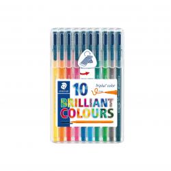 Conjunto 10 triplus tip pen
