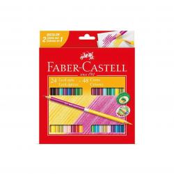 Lápis de cor Faber-Castell...